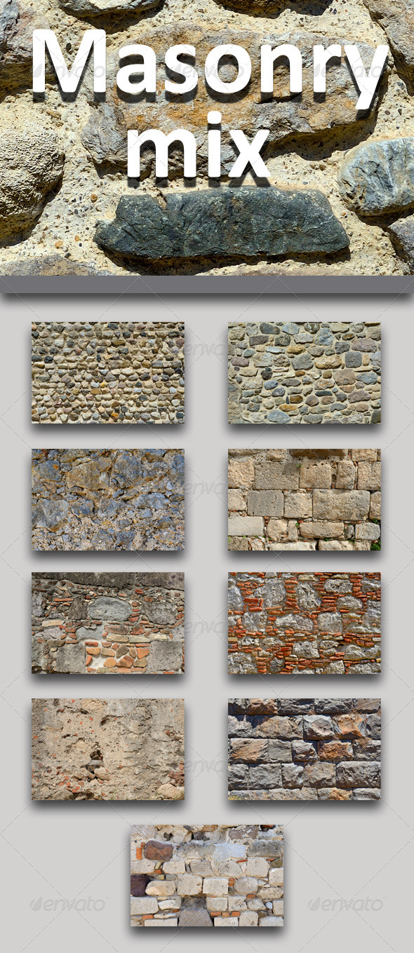 GraphicRiver Masonry Mix 8523002