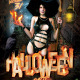 Hot Hallowen Party Flayer Template - GraphicRiver Item for Sale
