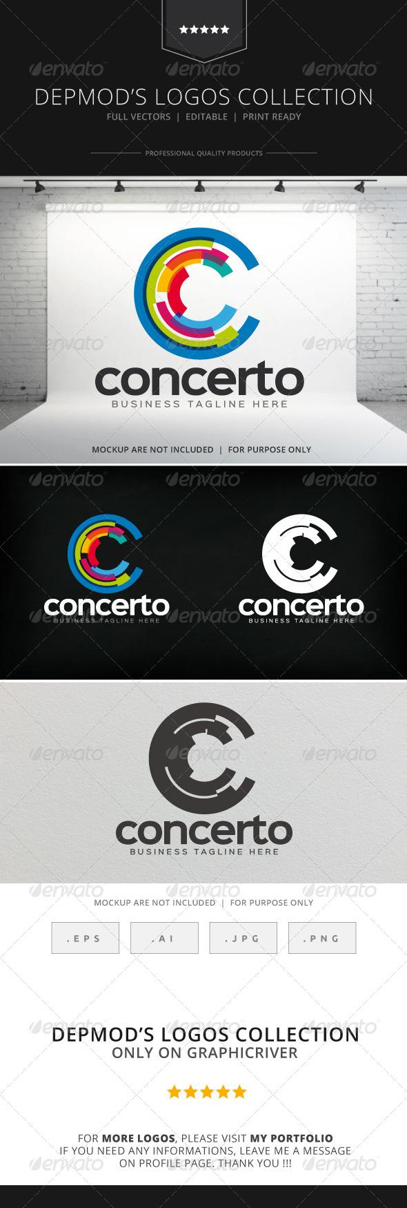GraphicRiver Concerto Logo 8523302