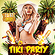 Tiki Party Night - GraphicRiver Item for Sale