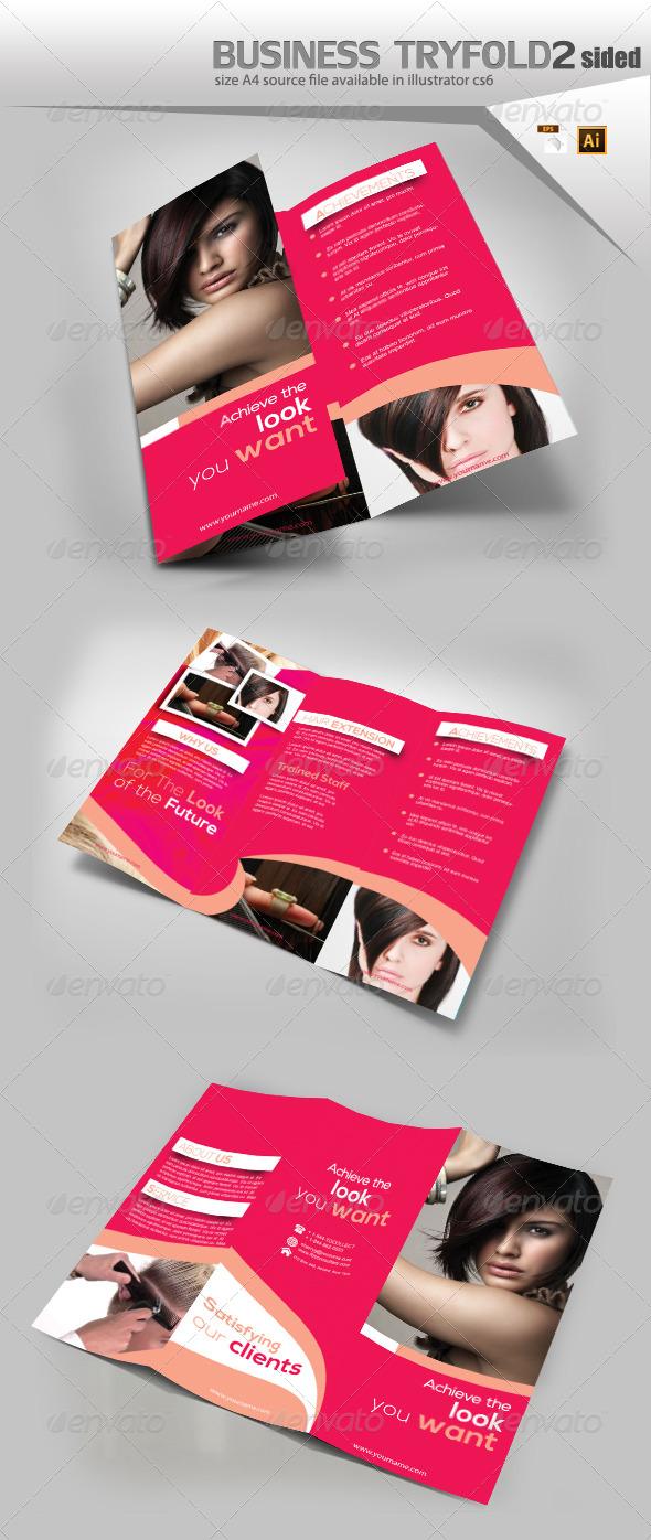 GraphicRiver Fashion TriFold Brochure 8523479