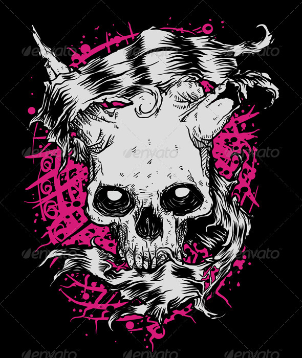 GraphicRiver Skull Banner 8524082