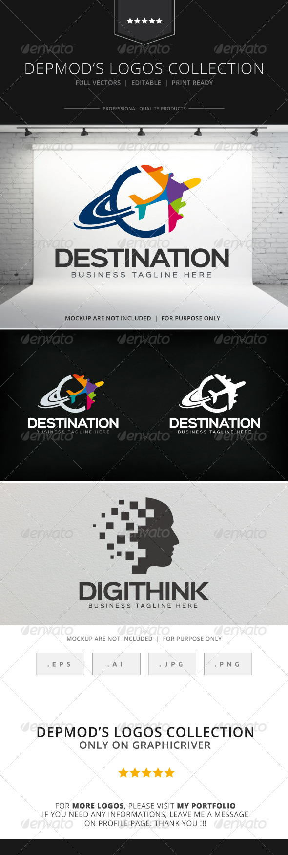 GraphicRiver Destination Logo 8524115