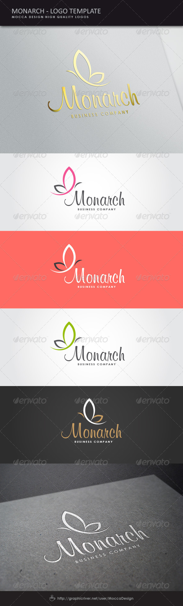 GraphicRiver Monarch Logo 8524630