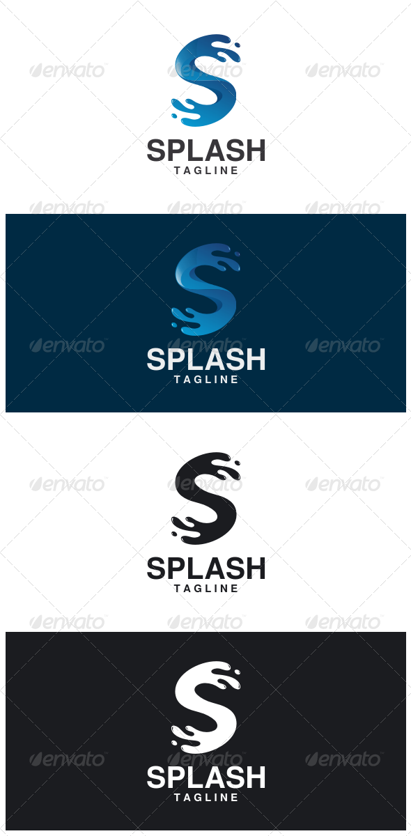 GraphicRiver Splash Logo 8524818