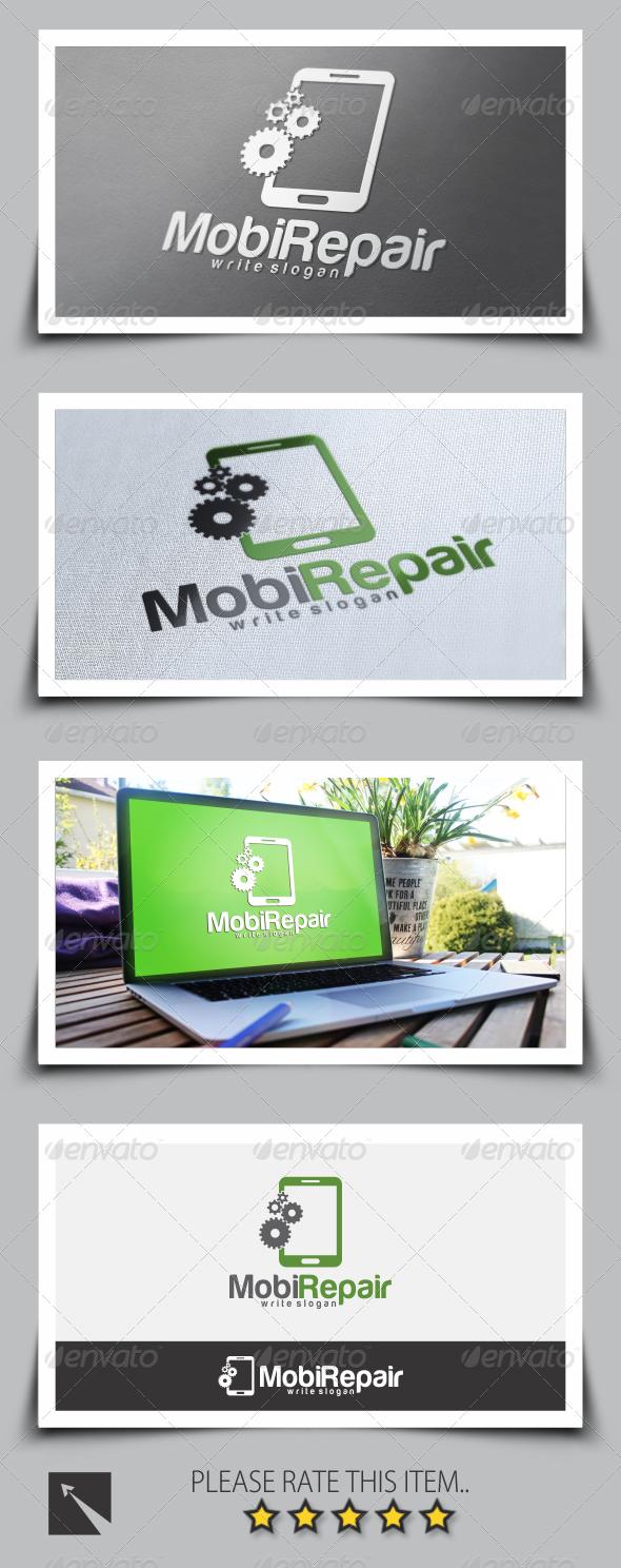 GraphicRiver Mobile Repair Logo Template 8525010