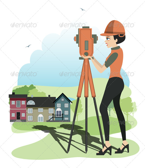 GraphicRiver Women Engineers 8525020