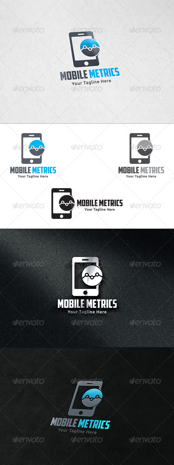 GraphicRiver Mobile Marketing Logo Template 8525133
