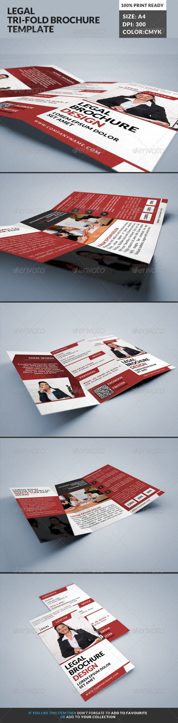 GraphicRiver Lawyer Legal Consultancy Tri-fold Brochure 2 8525333
