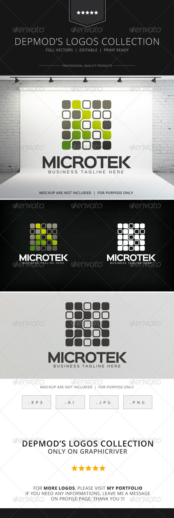 GraphicRiver Microtek Logo 8525780
