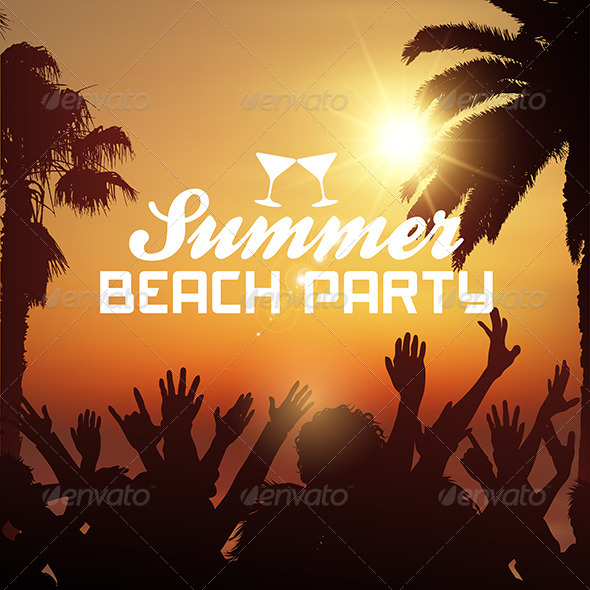 GraphicRiver Summer Beach Party 8525939