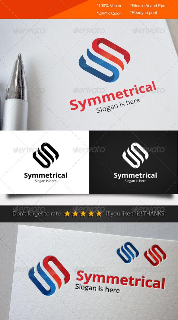 GraphicRiver Symmetrical Logo 8526065