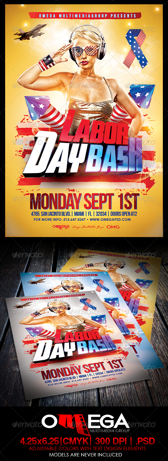 GraphicRiver Labor Day Bash 8526687