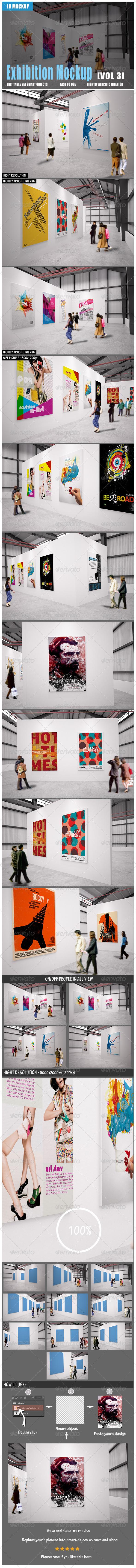 GraphicRiver Exhibition Mockup [vol3] 8526704