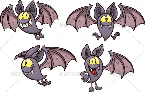 GraphicRiver Cartoon Bat 8526802