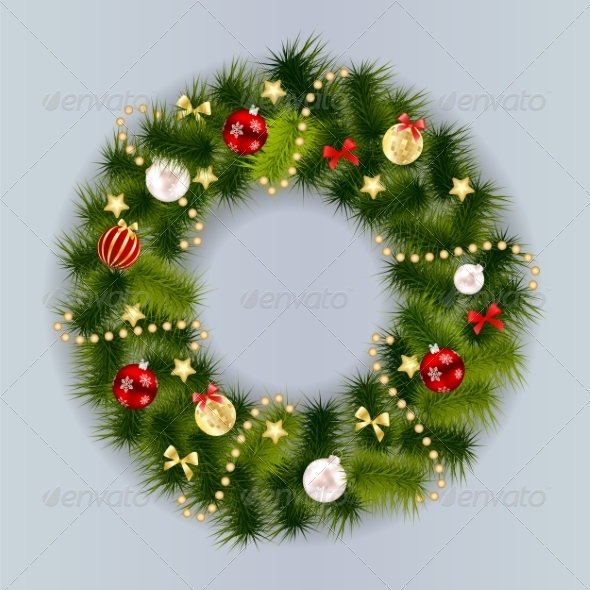 GraphicRiver Christmas and New Year Background 8526838
