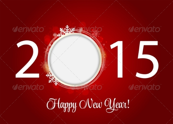GraphicRiver Abstract Beauty 2015 New Year Background 8526841