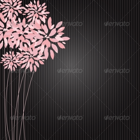 GraphicRiver Stylish Floral Background Vector Illustration 8526855