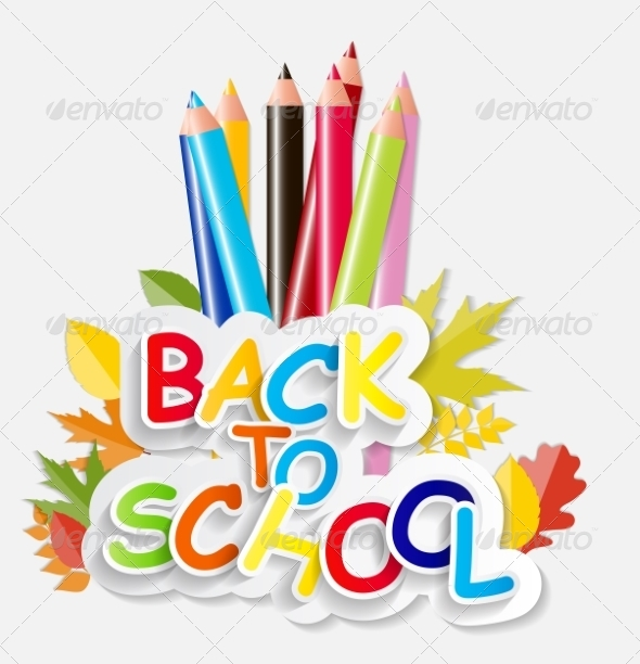 GraphicRiver Back to School Concept Vector Illustration 8526881