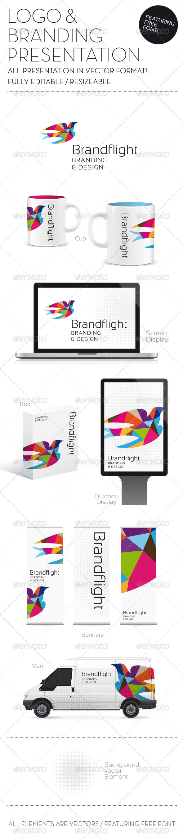 GraphicRiver Logo & Branding Presentation 852940