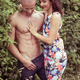 Beautiful Couple Posing Very Sexy on Bush - PhotoDune Item for Sale