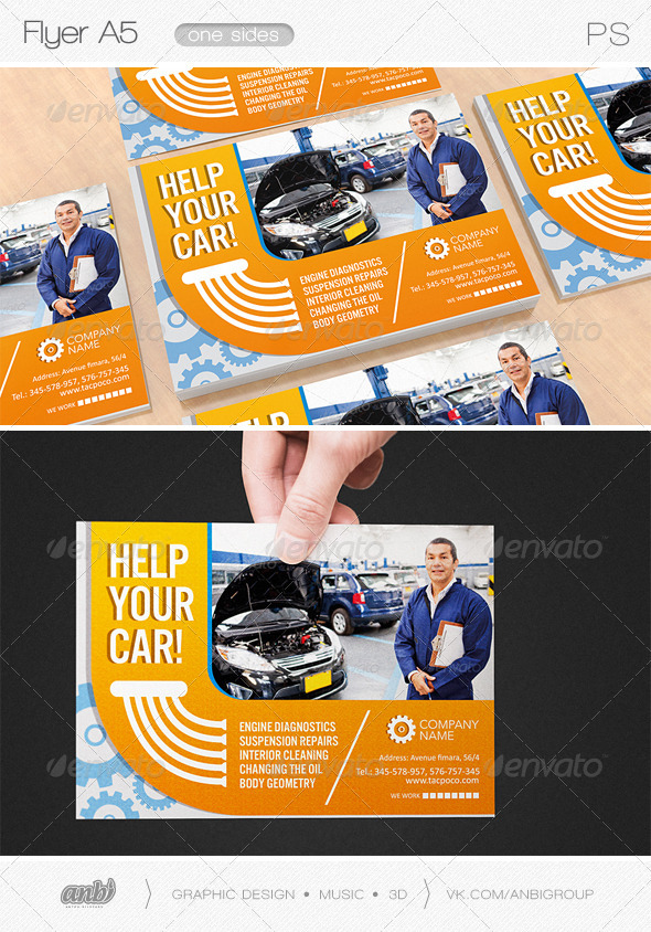 GraphicRiver Help your car 8527725