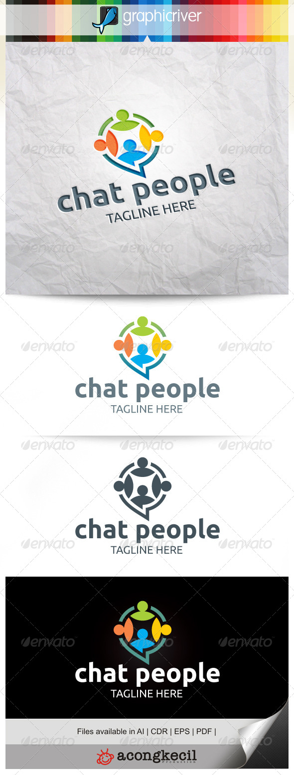 GraphicRiver Chat People 8527898