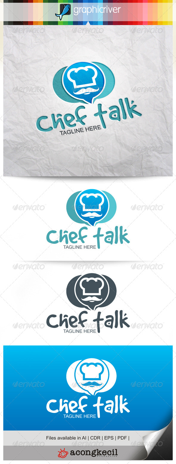 GraphicRiver Chef Talk 8527982