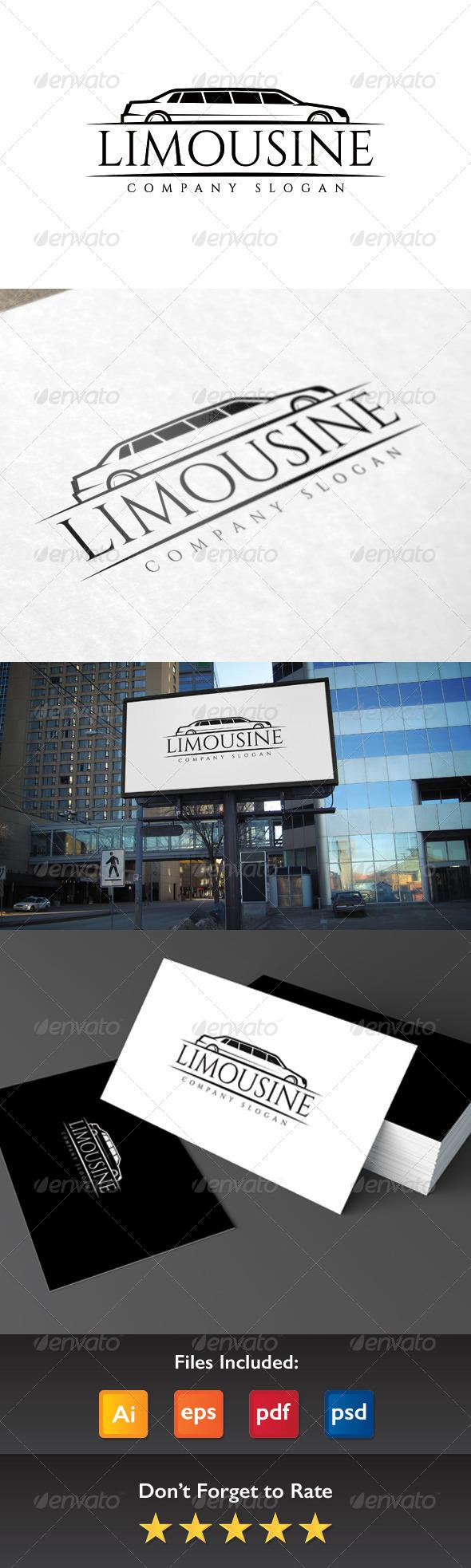 GraphicRiver Limousine Logo 8528104