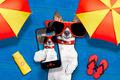 dog summer beach selfie - PhotoDune Item for Sale