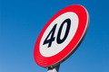Speed limit sign - PhotoDune Item for Sale