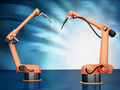 Industrial Robotic Arms - PhotoDune Item for Sale