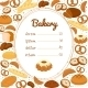 Bakery Menu or Price Poster - GraphicRiver Item for Sale