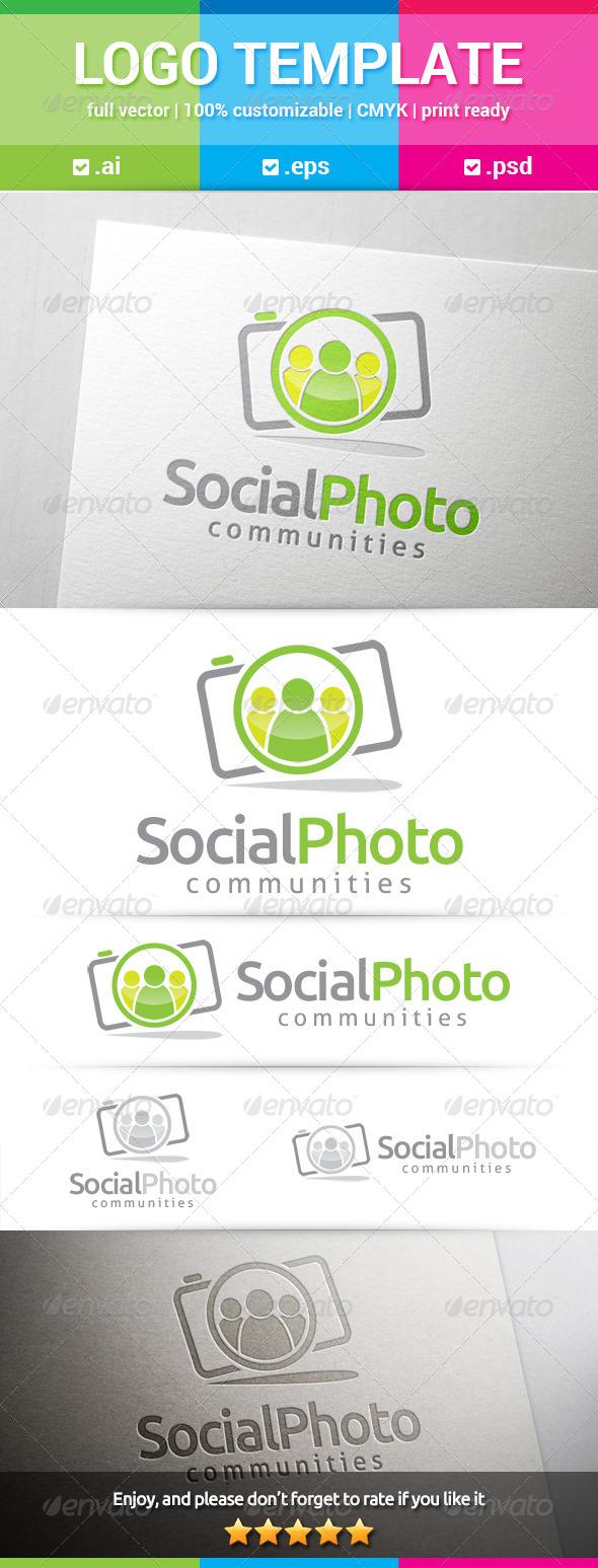 GraphicRiver Social Photo Logo 8529930