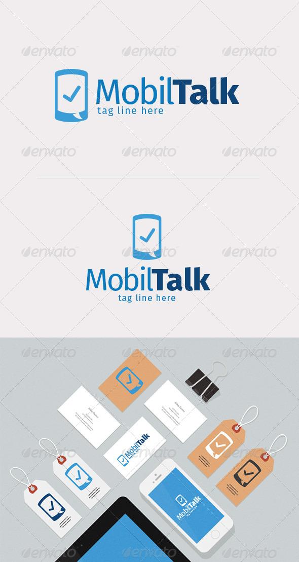 GraphicRiver Mobil Talk Logo Design 8525617