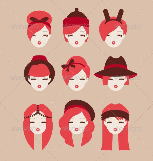 GraphicRiver Fashion Girls 8511156