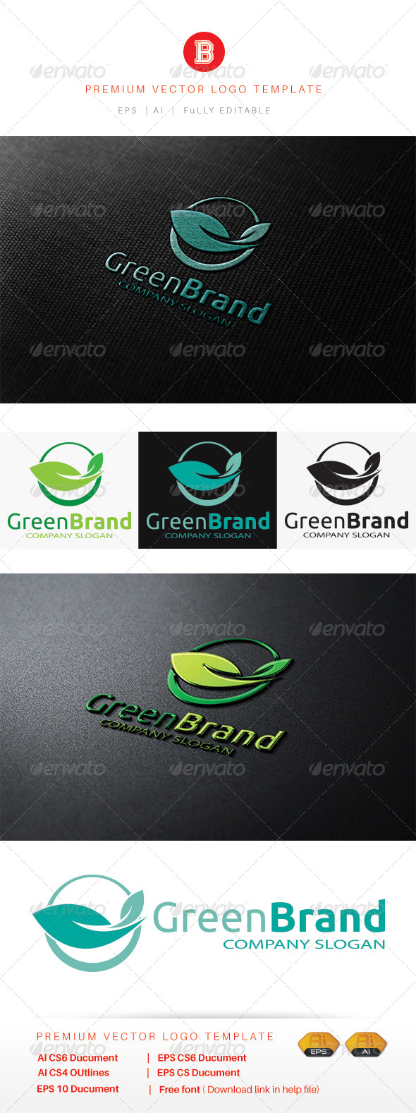 GraphicRiver Green Brand 8530195