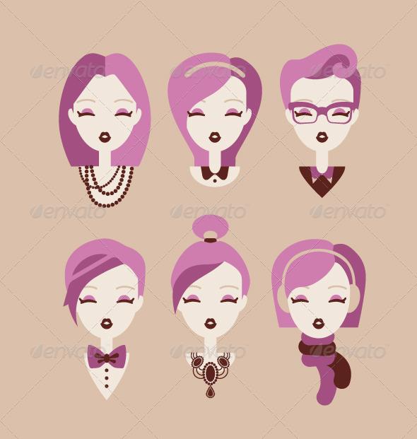 GraphicRiver Fashion Girls 8511163