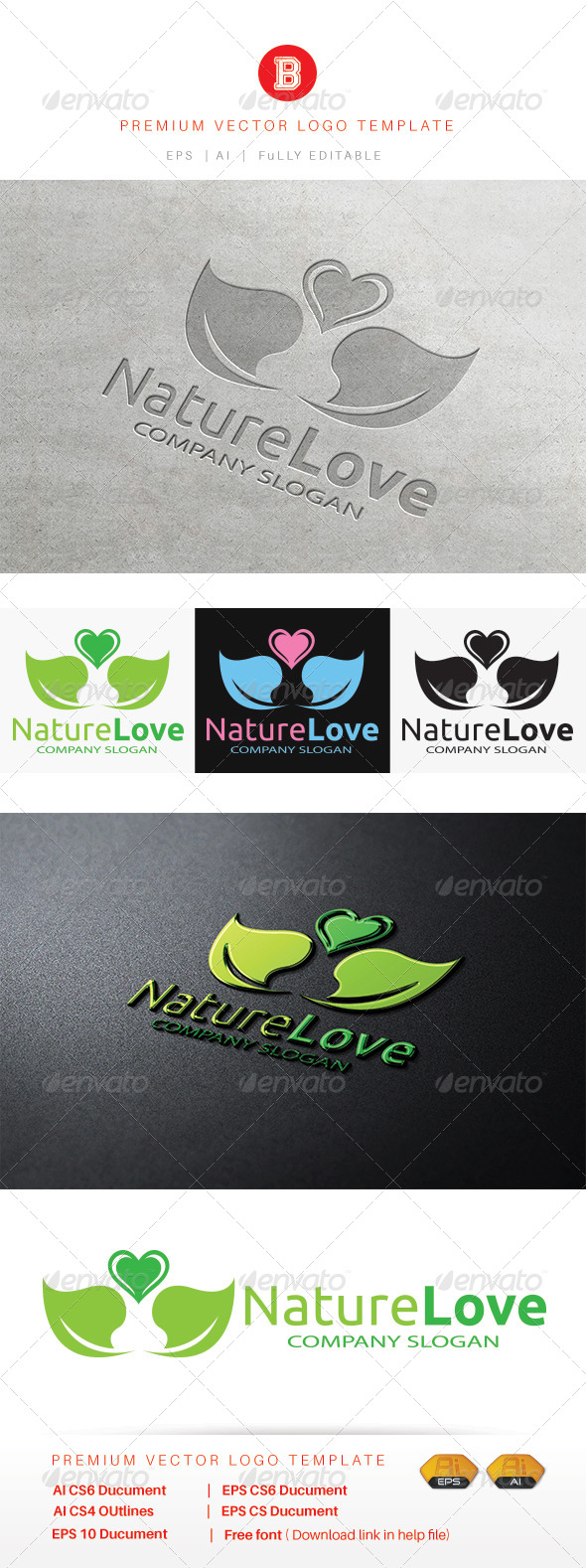 GraphicRiver Nature Love 8530295