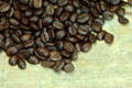 Coffee bean on wooden background - PhotoDune Item for Sale