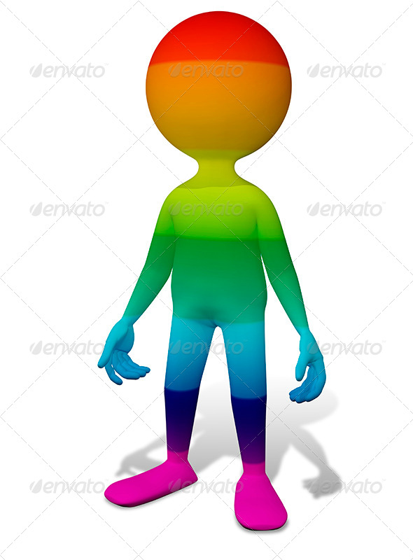 GraphicRiver Colorful Man 8531183