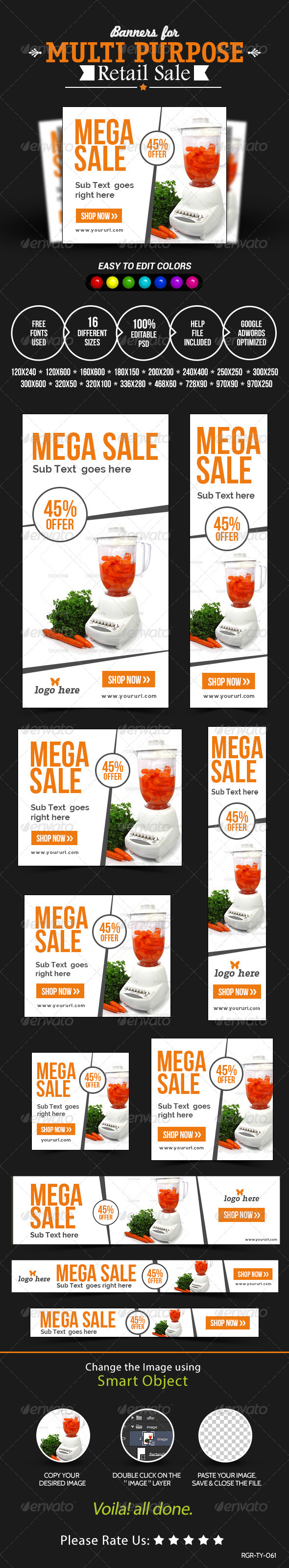 GraphicRiver Retail Sale Banners 8531362