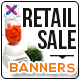 Retail Sale Banners - GraphicRiver Item for Sale