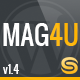 Mag4u - Responsive WordPress News, Magazine, Blog - ThemeForest Item for Sale