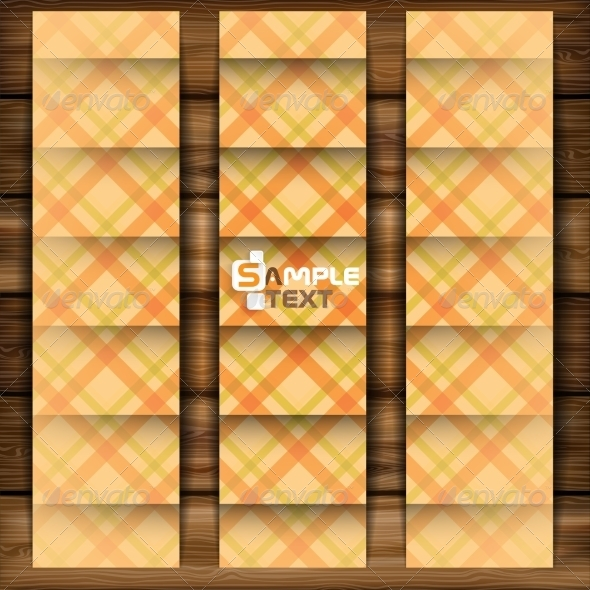 GraphicRiver Abstract Square On Beige Background 8531403