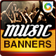 Concert Banners - GraphicRiver Item for Sale