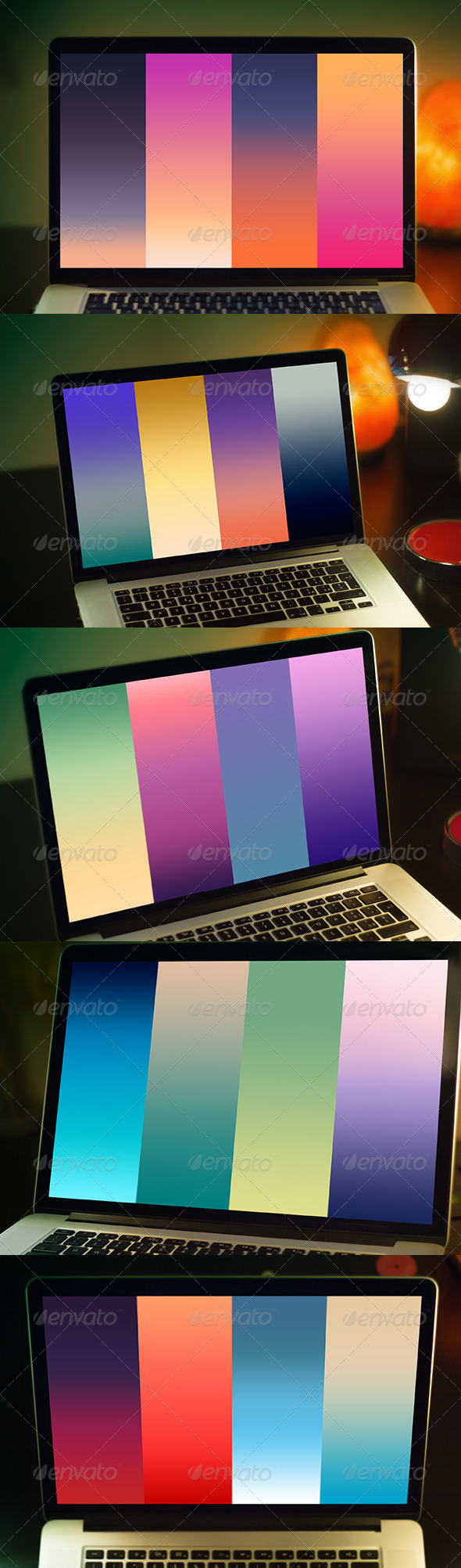 GraphicRiver Natural Gradients Vol 01 Sunset and Sunrises 8531615