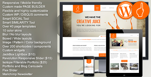 Wise Guys - Responsive Multi-purpose WordPress - Business Corporate