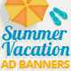 Summer Vacation Ad Banners - GraphicRiver Item for Sale
