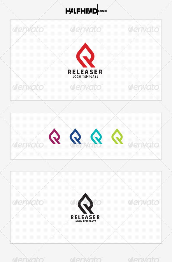 GraphicRiver Releaser Logo Template 8531833